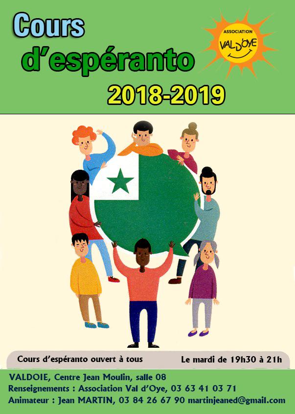 cours d'espéranto à Valdoie